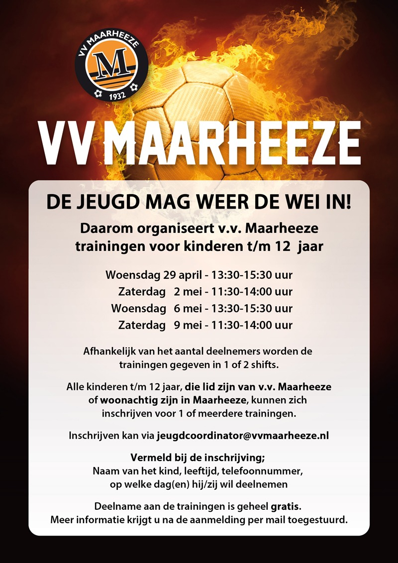 Flyer trainingen vv Maarheeze 002